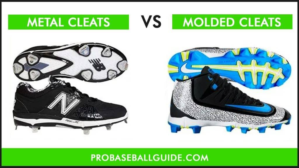 Metal Cleats vs Molded Cleats