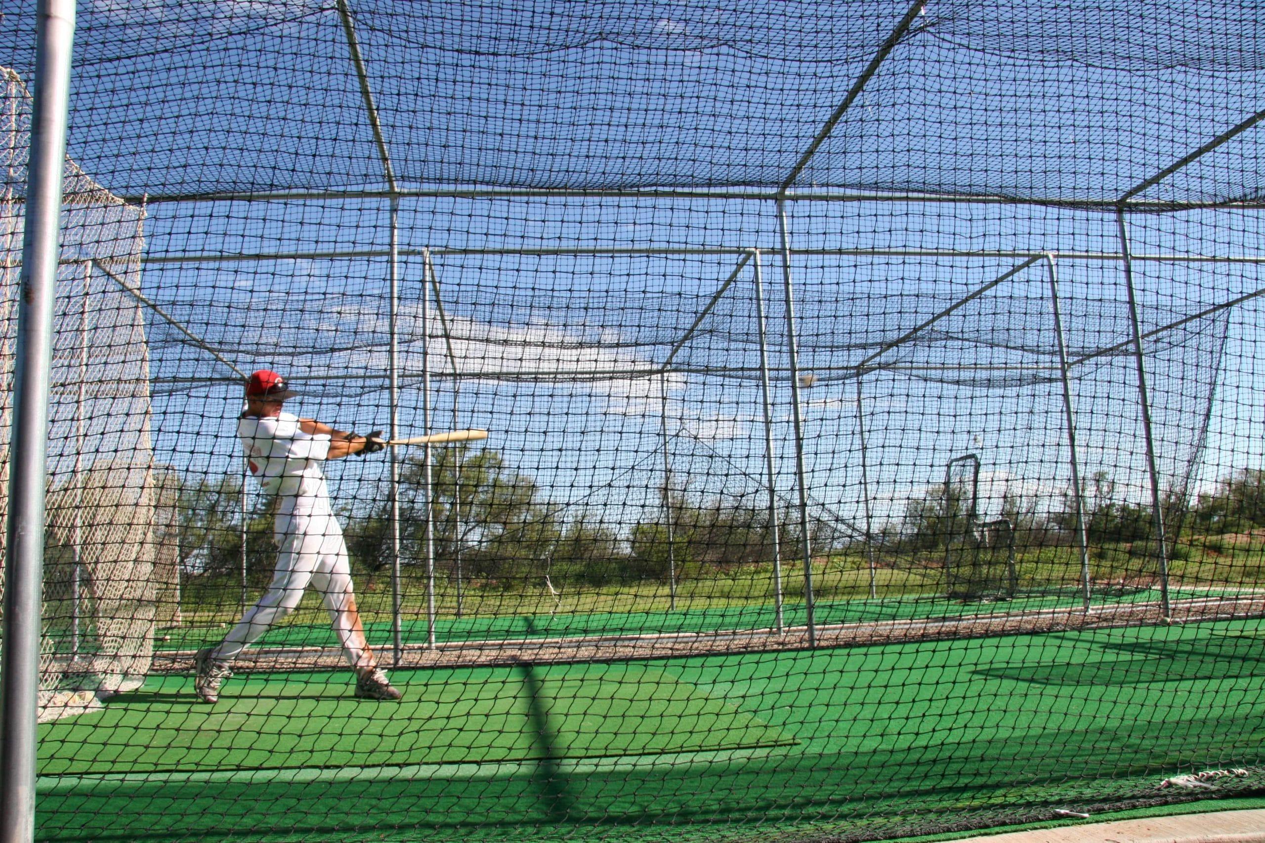 Basebal cage net