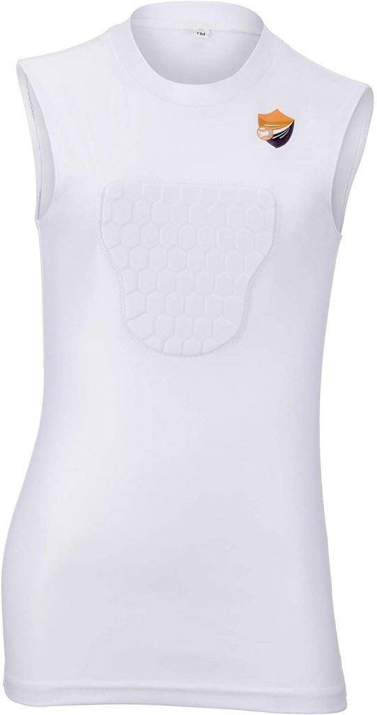 youth baseball chest protector shirts probay