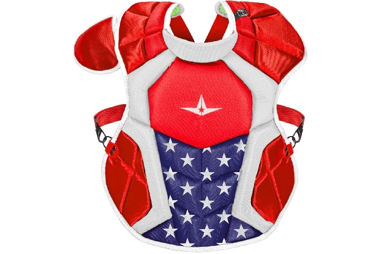 Allstar S7 Axis Chest Protector Chest Protectors for Baseball